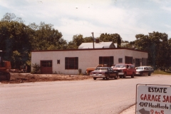 June 1981, Northome Blvd, Dale's Garage, formerly Mason's Garage