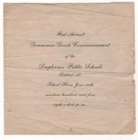 1904 Deephaven Grammer School Commencement
