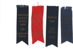 Reward Ribbons from Deephaven School 1926-30