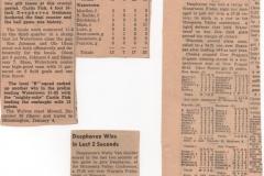 Deephaven High School Basketball News Articles 1940's