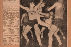 Lee Willliams & Vance Crosby Deephaven High School Basketball 1940's