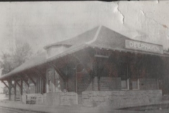 Deephaven Depot 1890's, Courtesy of the ELMHS