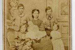 Charles & Virginia Gibson's Children: Victor, Louise, Archie, Preston, Gerolt, Elizabeth & Charles