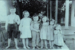 Gluek Kids, Authur, Mabel, Louis Jr. Valida, Marie and Rosaline