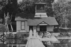 Jefferson boat house, how it originially looked