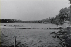 Beach at St Louis Bay in Deephaven Circa 1917