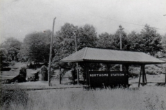 Northome Station for streetcars circa 1920