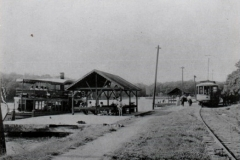 Street Car Station & Express Boat Dock on St Louis Bay (now site of tennis court)