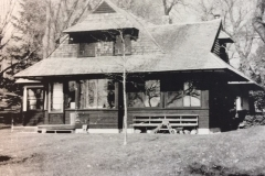 Jewett-Jones Home prior to fire