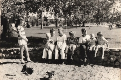 summer 1945 at cottage